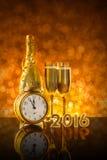 Diseño de tarjeta del Año Nuevo Imagenes de archivo