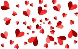 Diseño de tarjeta del amor stock de ilustración