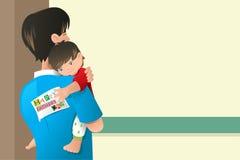 Diseño de tarjeta del día de padres