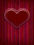 Diseño de tarjeta del día de tarjeta del día de San Valentín Imágenes de archivo libres de regalías