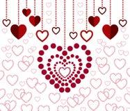 Diseño de tarjeta encantador Imagen de archivo
