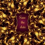 Diseño de tarjeta de la invitación Imagen de archivo libre de regalías