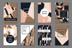 Diseño de tarjetas creativo Imagenes de archivo