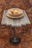 Diseño de una mesa de centro Imágenes de archivo libres de regalías