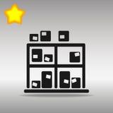Diseño de Warehouse con las cajas Imagenes de archivo