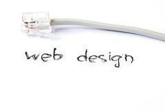 Diseño de Web Imagen de archivo libre de regalías