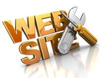 Diseño de Web Foto de archivo
