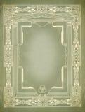 Diseño decorativo de la frontera de la vendimia Fotos de archivo libres de regalías