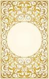 Diseño decorativo de los ornamentos ilustración del vector