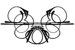 Diseño decorativo del ornamento Imagenes de archivo