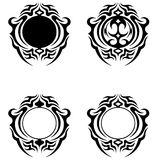 Diseño decorativo del ornamento Foto de archivo