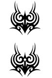 Diseño decorativo del tatuaje Imagen de archivo libre de regalías