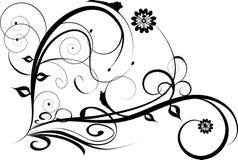 Diseño decorativo floral libre illustration
