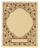 Diseño decorativo floral del fondo del vector de la vendimia Imagenes de archivo