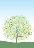 Diseño del árbol Ilustración del Vector