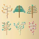 Diseño 4 del árbol Imagen de archivo libre de regalías