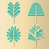 Diseño 8 del árbol Fotos de archivo libres de regalías