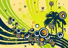 Diseño del árbol de Grunge Imagen de archivo libre de regalías