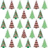 Diseño del árbol de navidad Imagen de archivo libre de regalías