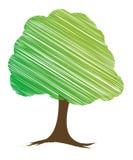 Diseño del árbol del vector ilustración del vector