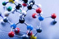 Diseño del átomo Imagenes de archivo