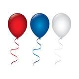 Diseño del aire de los globos Fotos de archivo