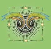 Diseño del ala Fotografía de archivo libre de regalías