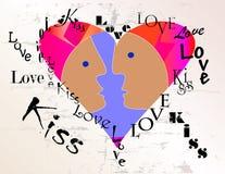 Diseño del amor Fotos de archivo libres de regalías