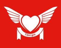 Diseño del amor Imagenes de archivo