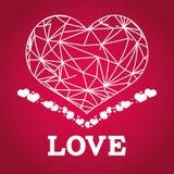 Diseño del amor Imagen de archivo libre de regalías