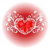 Diseño del amor del corazón stock de ilustración