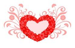 Diseño del amor del corazón Fotos de archivo libres de regalías