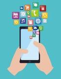 Diseño del App Imagenes de archivo