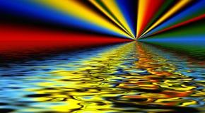 Diseño del arco iris Imágenes de archivo libres de regalías