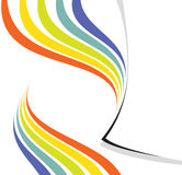 Diseño del arco iris - disposición de paginación Fotos de archivo libres de regalías