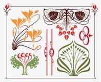 Diseño del Arte-nouveau ilustración del vector