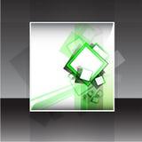 Diseño del aviador o de la cubierta del vector Fotos de archivo libres de regalías