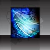 Diseño del aviador o de la cubierta del vector Imagen de archivo libre de regalías