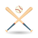 Diseño del béisbol, deporte y ejemplo de las fuentes Imágenes de archivo libres de regalías