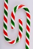 Diseño del bastón de caramelo Fotografía de archivo