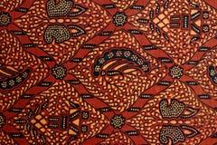 Diseño del batik Fotos de archivo libres de regalías