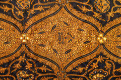 Diseño del batik Imagenes de archivo
