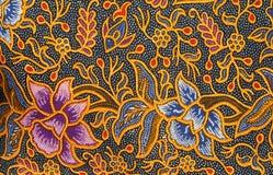 Diseño del batik Imagen de archivo