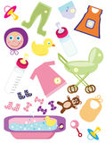 Diseño del bebé Imágenes de archivo libres de regalías