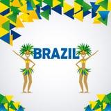 Diseño del Brasil Foto de archivo libre de regalías