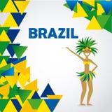 Diseño del Brasil Fotos de archivo libres de regalías