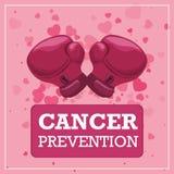 Diseño del cáncer Fotografía de archivo libre de regalías