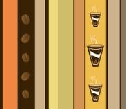 Diseño del café Imagenes de archivo