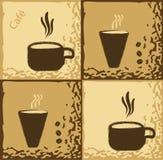 Diseño del café Imágenes de archivo libres de regalías