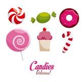 Diseño del caramelo Imagen de archivo
